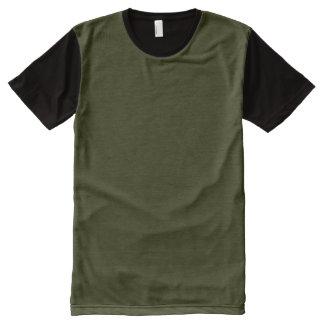 DARK OLIVE GREEN (solid color background) ~.jpg All-Over Print T-Shirt