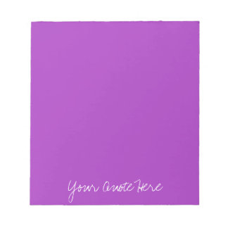 Dark Orchid Template Notepad
