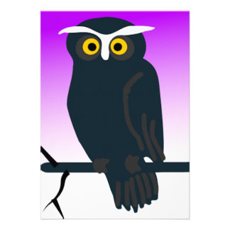 Dark Owl Custom Announcements