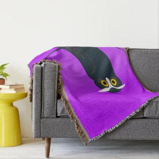 Dark Owl Throw Blanket
