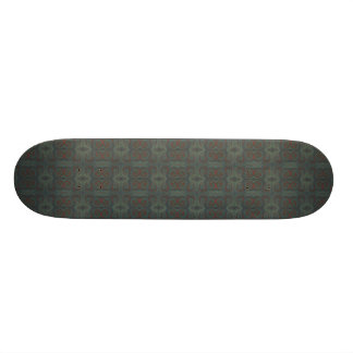 dark paint swirls skateboard