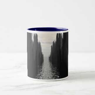 Dark Passage Two-Tone Coffee Mug