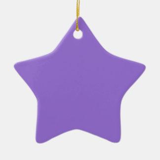 Dark Pastel Purple Christmas Tree Ornaments