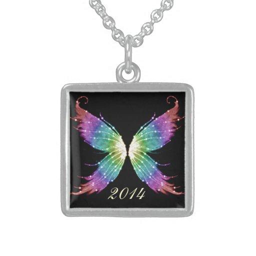 Dark Pastel Wings Pendants