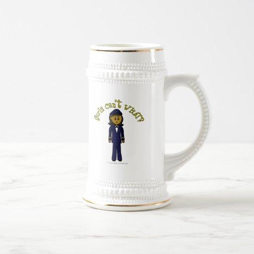 Dark Pilot Girl Mug