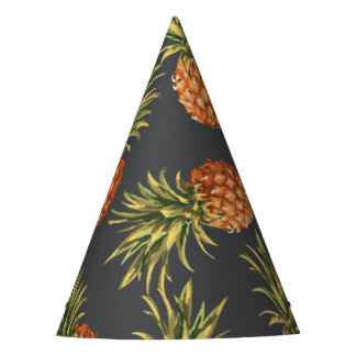 Dark Pineapple Party Hat
