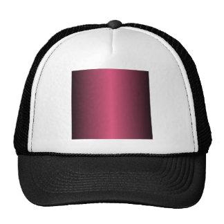 Dark Pink and Black Gradient Cap
