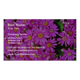 Dark Pink Chrysanthemums flowers Business Card