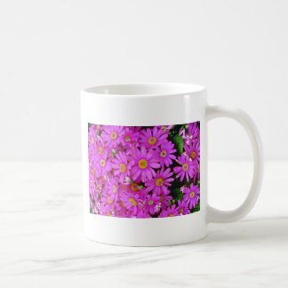 Dark Pink Chrysanthemums flowers Mugs
