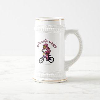 Dark Pink Girls BMX Coffee Mug