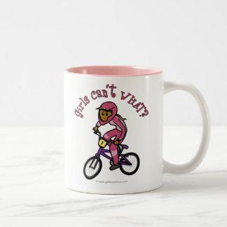 Dark Pink Girls BMX Mugs