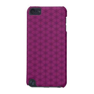 Dark Pink Hexagon iPod Touch 5G Case
