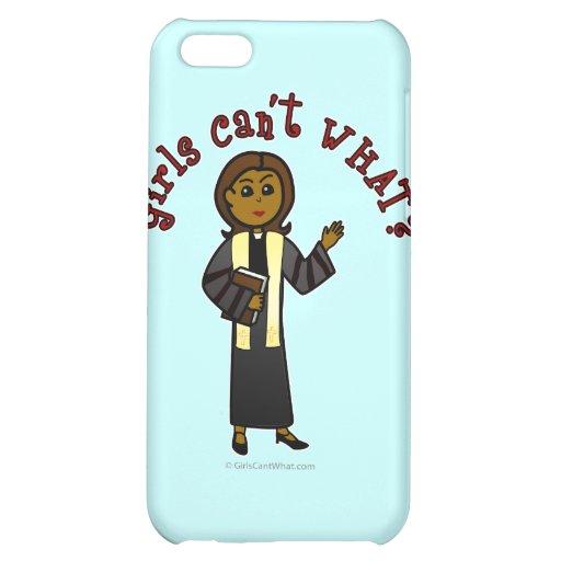 Dark Preacher Girl iPhone 5C Covers