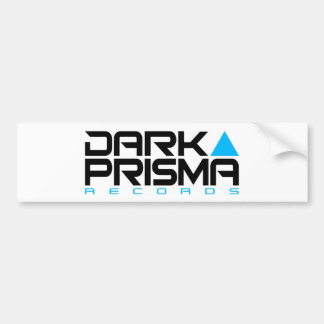 Dark Prisma White Sticker
