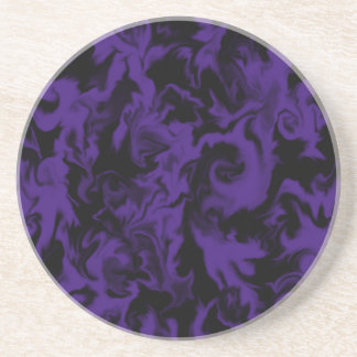 Dark Purple & Black mixed color coaster