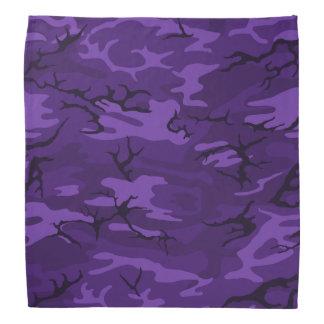 Dark Purple Camo Bandana