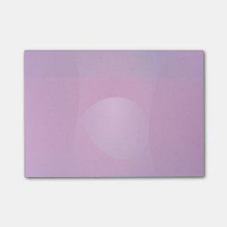 Dark Purple Cool Abstract Art Post-it® Notes