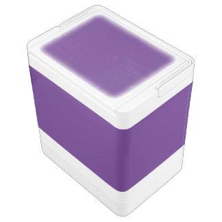 Dark Purple Igloo Cooler