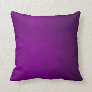 Dark Purple Leather Plush Throw Pillow