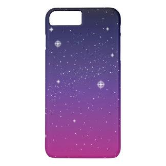 Dark Purple Starry Night Sky iPhone 7 Plus Case