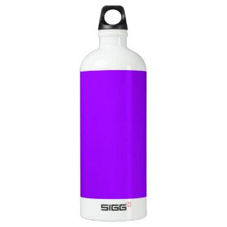 Dark purple water bottle
