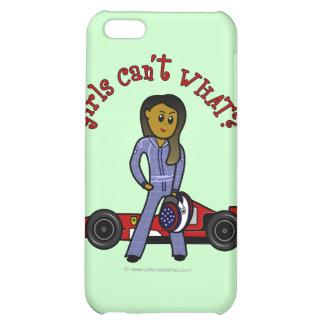 Dark Race Car Driver Girl iPhone 5C Covers
