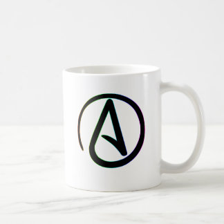 Dark Rainbow Atheist Coffee Mug