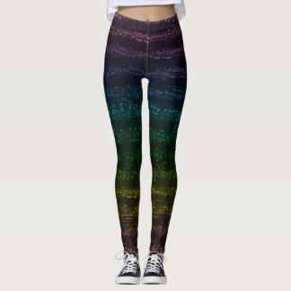 Dark Rainbow Leggings