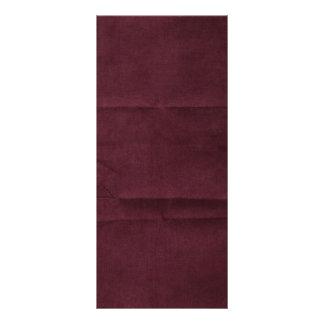 Dark Red Burgundy Creased Background Full Color Rack Card