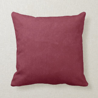 Dark Red Burgundy Sanded Background Cushion