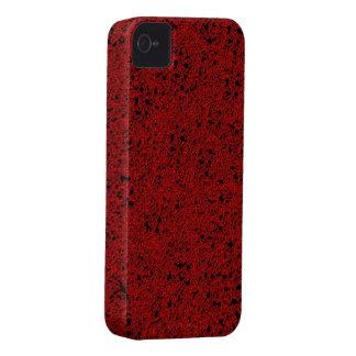 Dark red glitter iphone 4 barely case