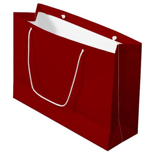 Dark Red Large Gift Bag