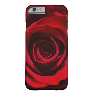 Dark Red Rose iPhone 6 case Barely There iPhone 6 Case