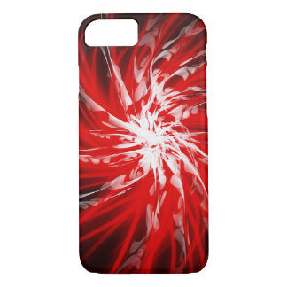 Dark Red Spiral - Apple iPhone Case