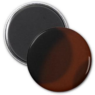 Dark Red Spotty Nights 6 Cm Round Magnet