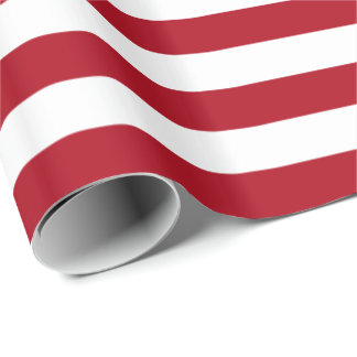 striped wrapping paper Shimmering gold flows in florid scrolls along the thick stripes of deep forest green holiday stripe wrapping paper is sumptuous, classic, and regal.