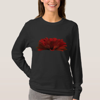 Dark Red Zinnia T-Shirt