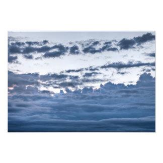Dark rolling clouds art photo