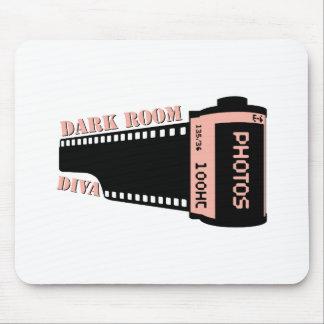 Dark Room Diva Mouse Pad