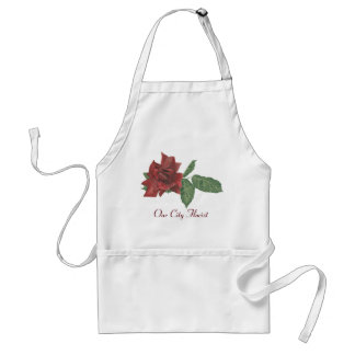 Dark Rose Florist Apron