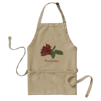 Dark Rose Garden Apron