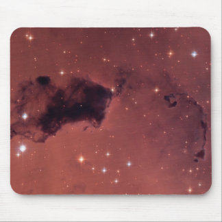 Dark Rose Shadow Dust Clouds Mouse Pad