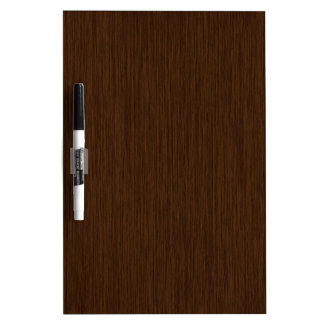 Dark Rustic Grainy Wood Background Dry Erase Board