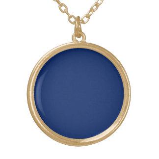 Dark Sapphire Solid Color Pendants