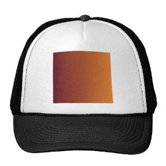 Dark Scarlet to Cadmium Orange Vertical Gradient Trucker Hat