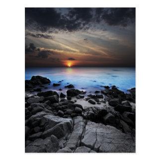 Dark Seaview Postcard