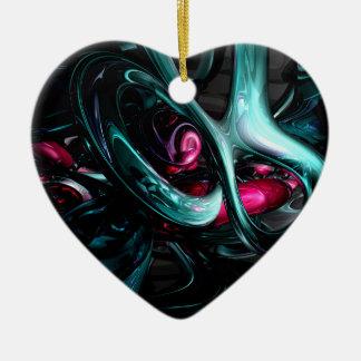 Dark Secrets Abstract Ornament