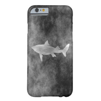 Dark Shark Art Barely There iPhone 6 Case
