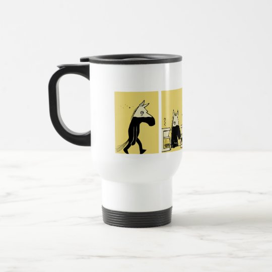 Dark Side of the Horse Travel Mug #1