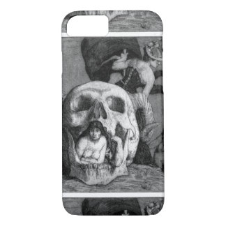 Dark Silence in Suburbia iPhone 7 Case